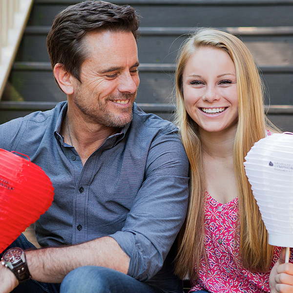 image of Charles Esten and daughter Addie