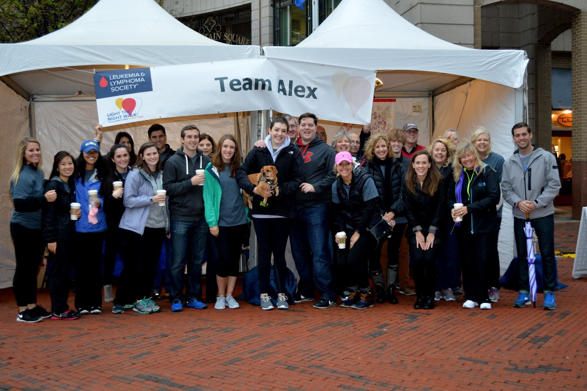Team Alex, Top Friends and Family Team Northern Virginia