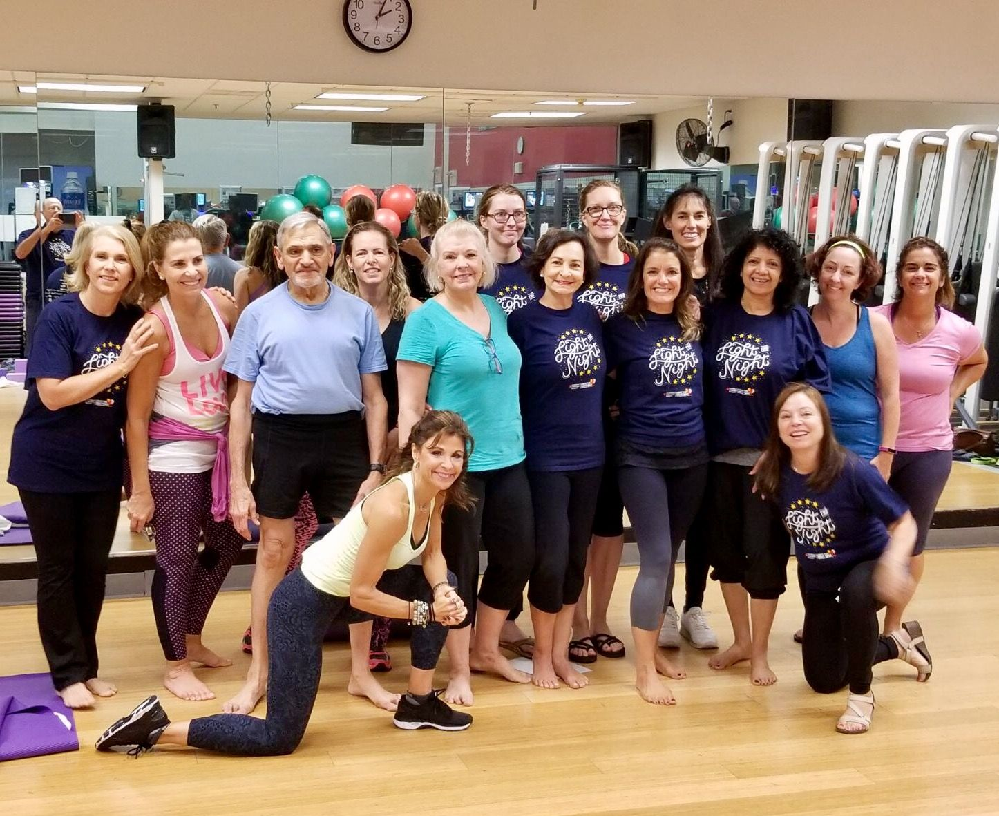 Yoga for a Cure with Team Holtzman